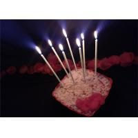 Quality 10pcs Long 10 Holders Birthday Celebration Decorating Candles With Glitter wholesale