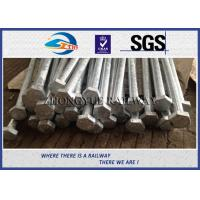 Cheap GB Standard 8.8 Grade Railway HEX Bolt  24x3x1100mm with nuts and washers for sale