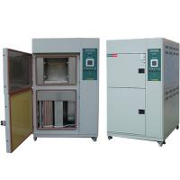 Cheap 2 Zones Environmental Test Chamber , Climatic Temperature Thermal Shock Test Chamber Basket Type for sale