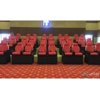 Cheap Professional Scene 5D Movie Theater For Indoor Mini Cabin Cinema Red / Black Color for sale