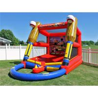 Cheap Outdoor Inflatable Baseball Batting Cage Batter Up Inflatable Baseball Target Shooting Games for sale