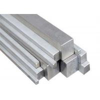 Cheap 12mm - 35mm Square Stainless Steel Bar For Shaft / Lathe 2m - 6.5m Length for sale