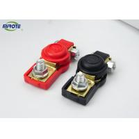Cheap Gender Small Battery Clamps , Car Battery Cable Clamps With Lacquer for sale