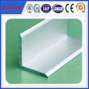 China aluminium angle profile 80mm*80mm*6mm angle aluminium profile on sale
