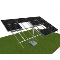 Quality 30psf Solar Panel Ground Mounting Systems Galvanized Steel Thickness 0.5mm-15mm wholesale
