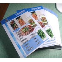 Cheap Menu Made By Pvc Plastic Cards wholesale
