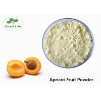 China Apricot Kernels Superfood Supplement Powder Dried Apricot Fruit Powder on sale