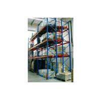 Cheap Custom industrial shelving racks, push-back racking for storage and warehouse for sale