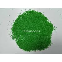 Cheap CE ISO Crumb Rubber Infill For Artificial Turf , Durafill Infill TPV Rubber Granules wholesale
