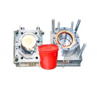 Cheap Durable Household Plastic Paint Bucket Mould , Industrial Injection Molding Tool for sale