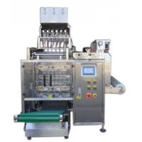 China 8 Lanes Automatic Liquid Packing Machine For  Water / Detergent , 3 / 4 Sides Seal Type on sale