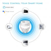 Buy cheap 100-240V AC WIFI Smart Plug Tuya Home Energy Meter Remote Control EU Automation from wholesalers