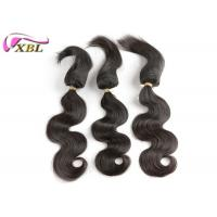 Cheap Can Colored Well 100% Human Virgin Brazilian Hair Braid in Hair Extensions #1b for sale