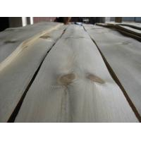 China Sliced Knotty Pine Wood Veneer Sheet For Furniture, Plywood on sale