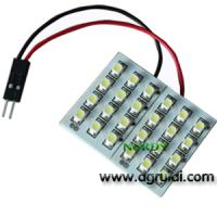 Cheap Led dome led light interior reading bulb led 24pcs 3528 SMD car top lighting for sale