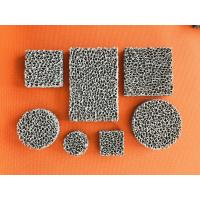 Cheap High Porosity Sponge Filter Material Three Dimensional Connected Mesh Structure for sale