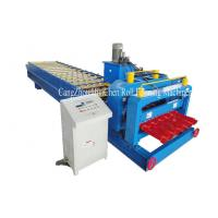 Cheap 1100mm Russia Type Glazed Step Tile Roofing Panel Roll Forming Equipment ISO for sale