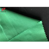 Cheap Warp Tricot Polyester Knit Fabric Brushe Mercerized Plain Cloth For Garment for sale