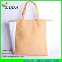 Cheap striped paper straw bags lady oversized beach bags for sale