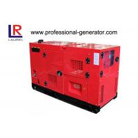 Cheap Open Air Working Super Silent 10kva Diesel Generator Set Low Noise Level Canopy for sale