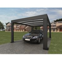 Cheap Anthracite Garden Shade Netting / Carport Cubus Single Genua Induction Garage for sale