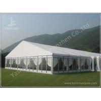 Quality Luxury Fully Decorated 20X20 Party Tent With Sidewalls , Outdoor Party Marquee wholesale