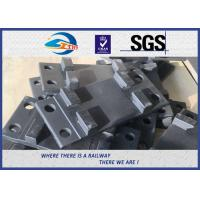 Quality High Tensile Cast Iron Tie Plate for Railway Fastening System SKL12 plain Q235 wholesale