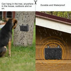 Quality 25khz ultrasonic pet trainer black housing ultrasonic dog trainer outdoor wholesale