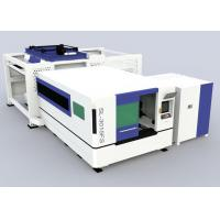 Buy cheap metal sheet cutting 2000W fiber laser cutting machine with loading and unloading from wholesalers