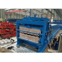 China Energy Saving Glazed Tile Roll Forming Machine 5 KW Low Power Consumption on sale