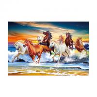 Cheap 40*60cm 3D Image Poster Large Size Animal Horse Pictures Wall Prints for sale