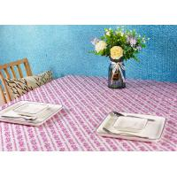 Buy cheap Wood Pulp Disposable Paper Tablecloth Customized Printed Eco - Friendly from wholesalers