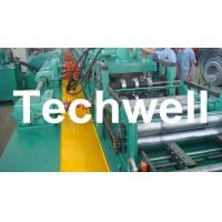 Cheap YX-86-194-312 W Beam Guardrail Roll Forming Machine For 2 - 4mm Material Thickness for sale