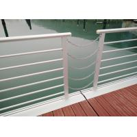 Cheap Aluminum Security Fence Dock  Marine Floating Pontoon  For Yacht High Security Fence for sale