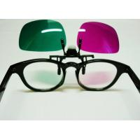 3d Nvidia Vision Myopiageneral Glasses: Kids Red Green 3d Glasses With ROHS , Movie Theater 3d