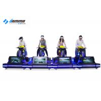 Cheap Theater VR Motorcycle Simulator High Headset Resolution 2160 X 1200 Smooth Images for sale