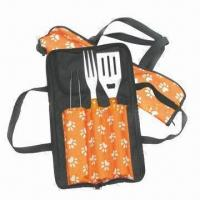 Cheap Barbecue Tool Set, Includes Spatula and Fork for sale