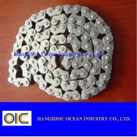 China 40Mn CD70 Transmission Spare Parts / Motorcycle Sprocket Chain on sale