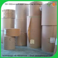 Cheap BMPAPER Hot New Products For 2014 High Bursting Strength Brown Test Liner  for cement bags for sale
