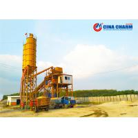 China 60m3/h belt conveyor type Small Concrete Batching Plant Price HZS60 concrete mixing plant on sale