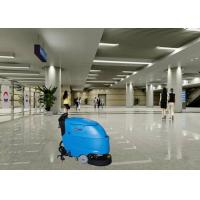 Cheap Stable Automatic Self Control Electric Floor Scrubber In Stations Hard Floor for sale