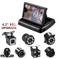 "Cheap Easy Operated Backup Camera Monitor 4.3"" TFT ABS Material Type High Durability for sale"