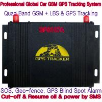 Cheap GPS107A Professional Car Safety GPS Vehicle Tracker W/ Cut-off & Resume oil & power by SMS for sale