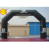 Cheap Outdoor Event Inflatable Arch For Sport / advertising , Inflatable Start Line for sale