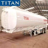 Buy cheap 2 Axle 40000 Liters Fuel Tanker Truck Trailer for Sale in Senegal from wholesalers