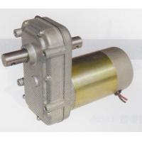 Cheap High continuous torque geared dc motors dual ball bearings / brush gear motor for sale