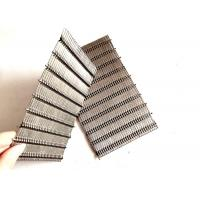 Cheap SS Inflexible Crimped Architectural Woven Mesh For Interior Decoration for sale