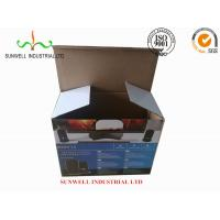 Cheap K9 Reinforced Electronics Product Packaging Boxes Spot UV Finished Varnish Film for sale