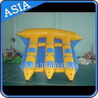 Cheap Exciting Inflatable Flying Fish Boat 6 Person Motorized Inflatable Water Boat wholesale