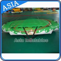 Cheap 3.3m X 2.1m Digital Printing UFO Inflatable Water Boat Customized Color wholesale